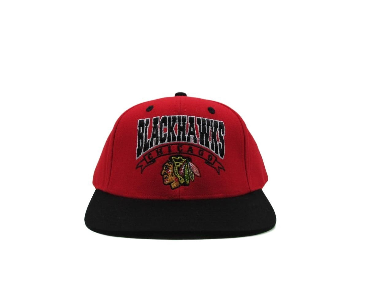 Chicago Blackhawks Classic Arch NHL Vintage Snapback Hat