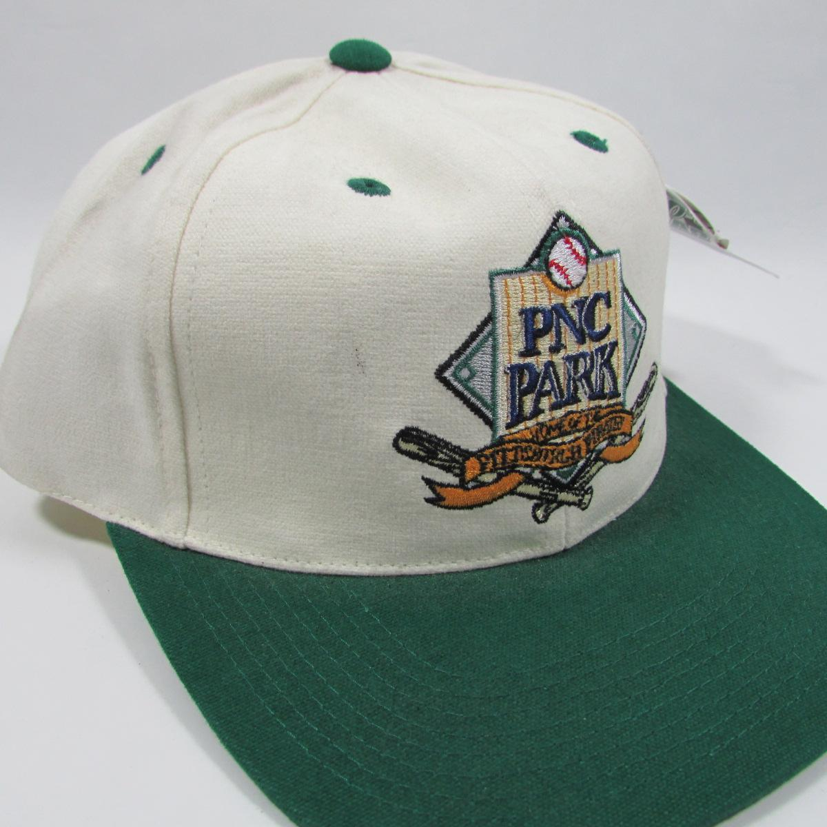 2001 Grand Opening PNC Park Pittsburgh Pirates Strapback Hat Deadstock Baseball