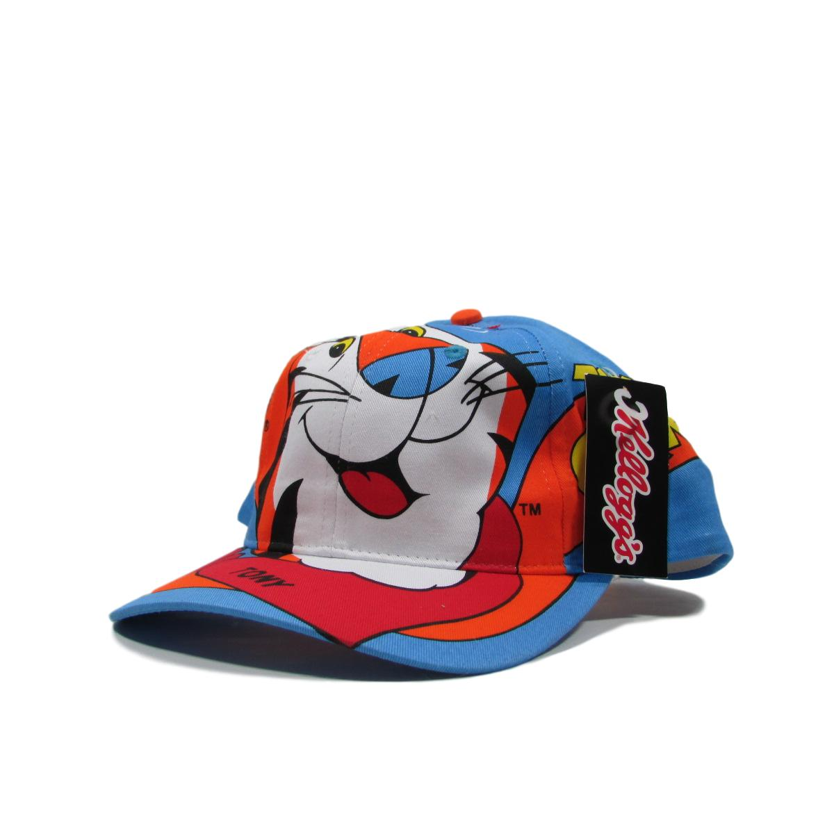 Tony The Tiger Mascot Kelloggs Cereal Cartoon Snapback Hat Deadstock
