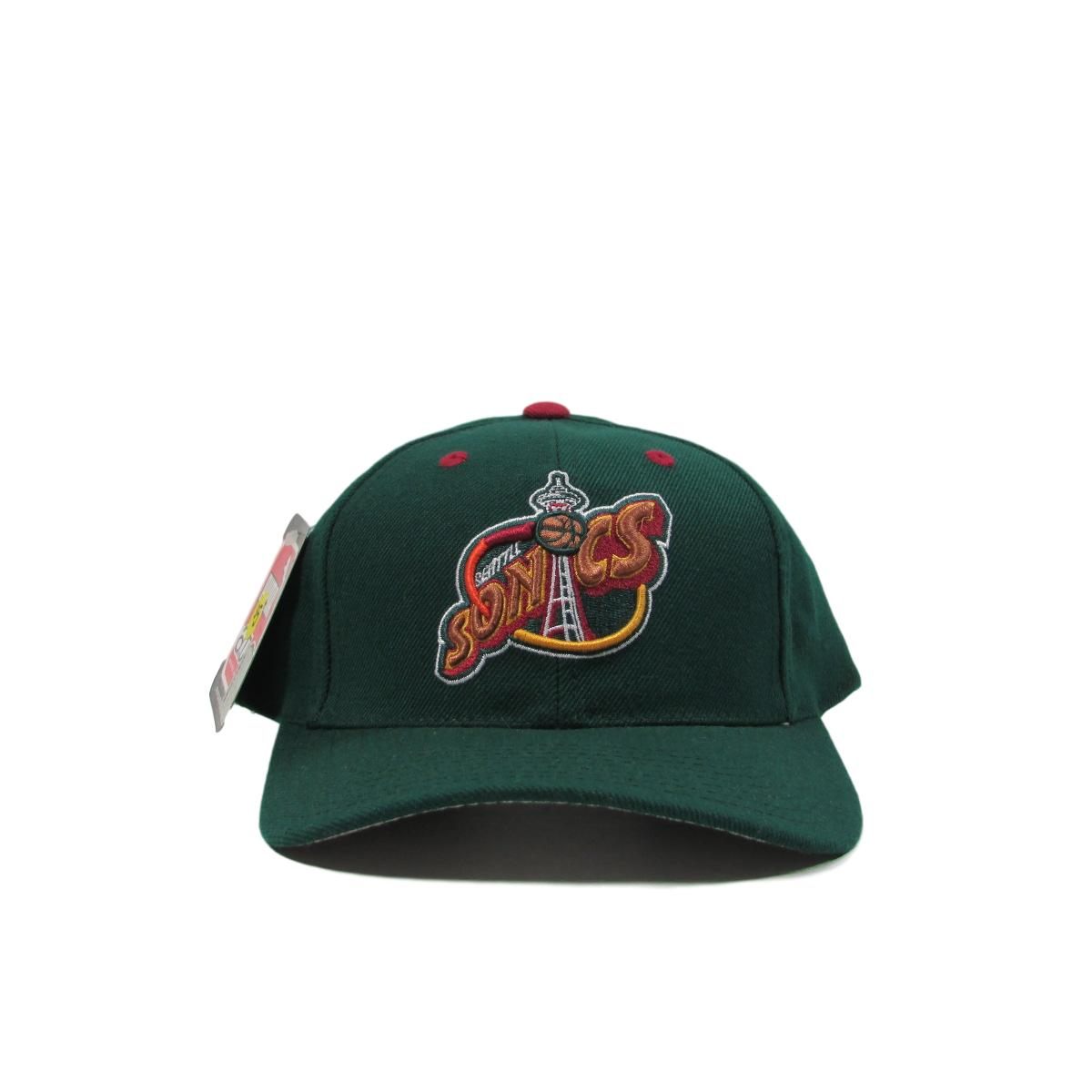 Seattle SuperSonics Deadstock Basketball Dad Cap Snapback Puma