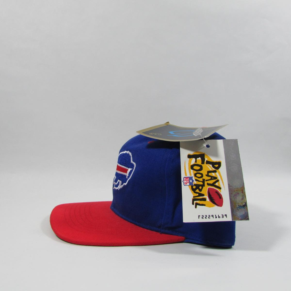 Buffalo Bills Deadstock NFL Football Snapback Hat The G Cap