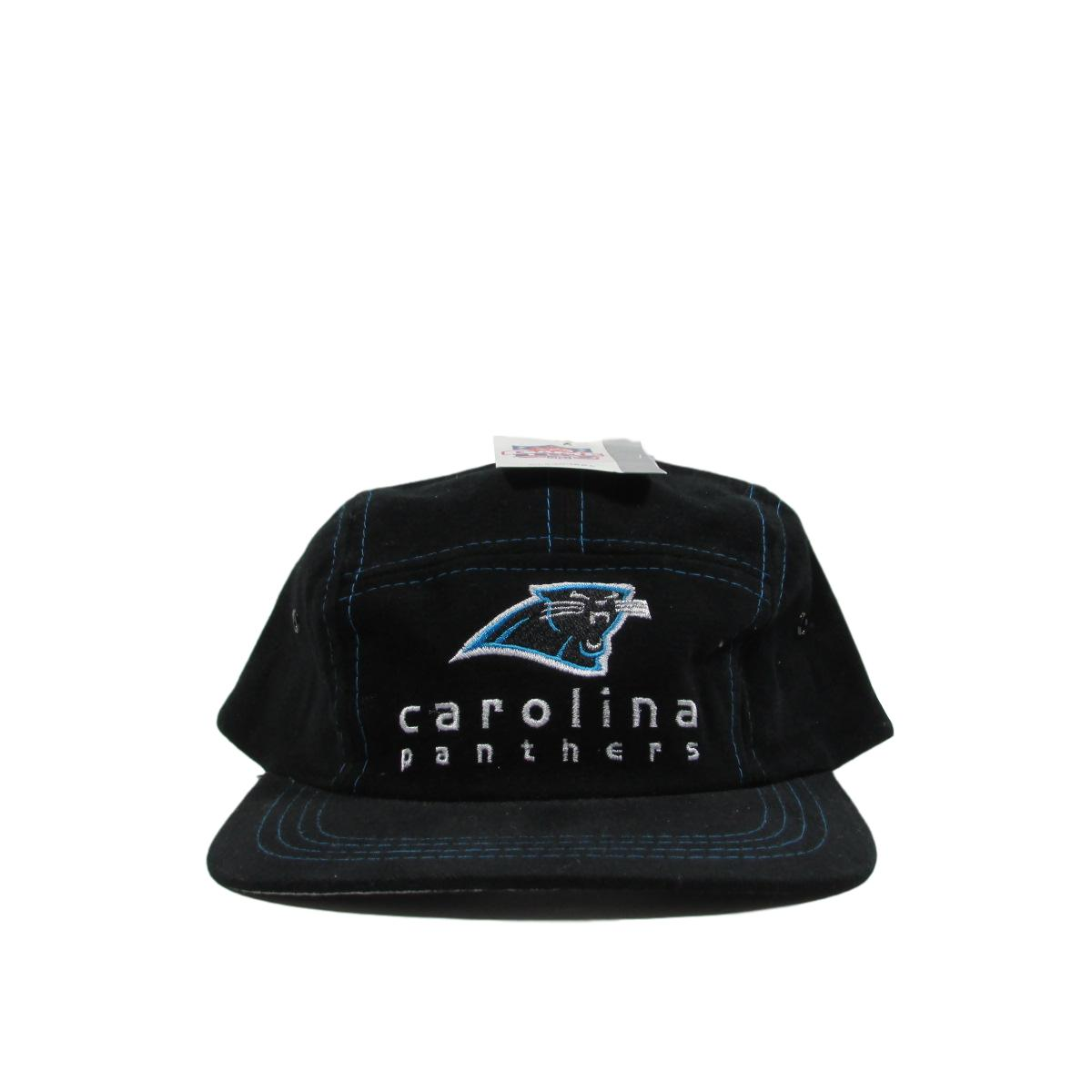 Carolina Panther Deadstock 5 Panel Snapback Hat NFL Game Day