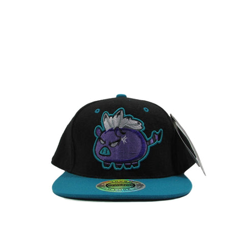 City Hunter Cool Neon Pig Snapback Hat
