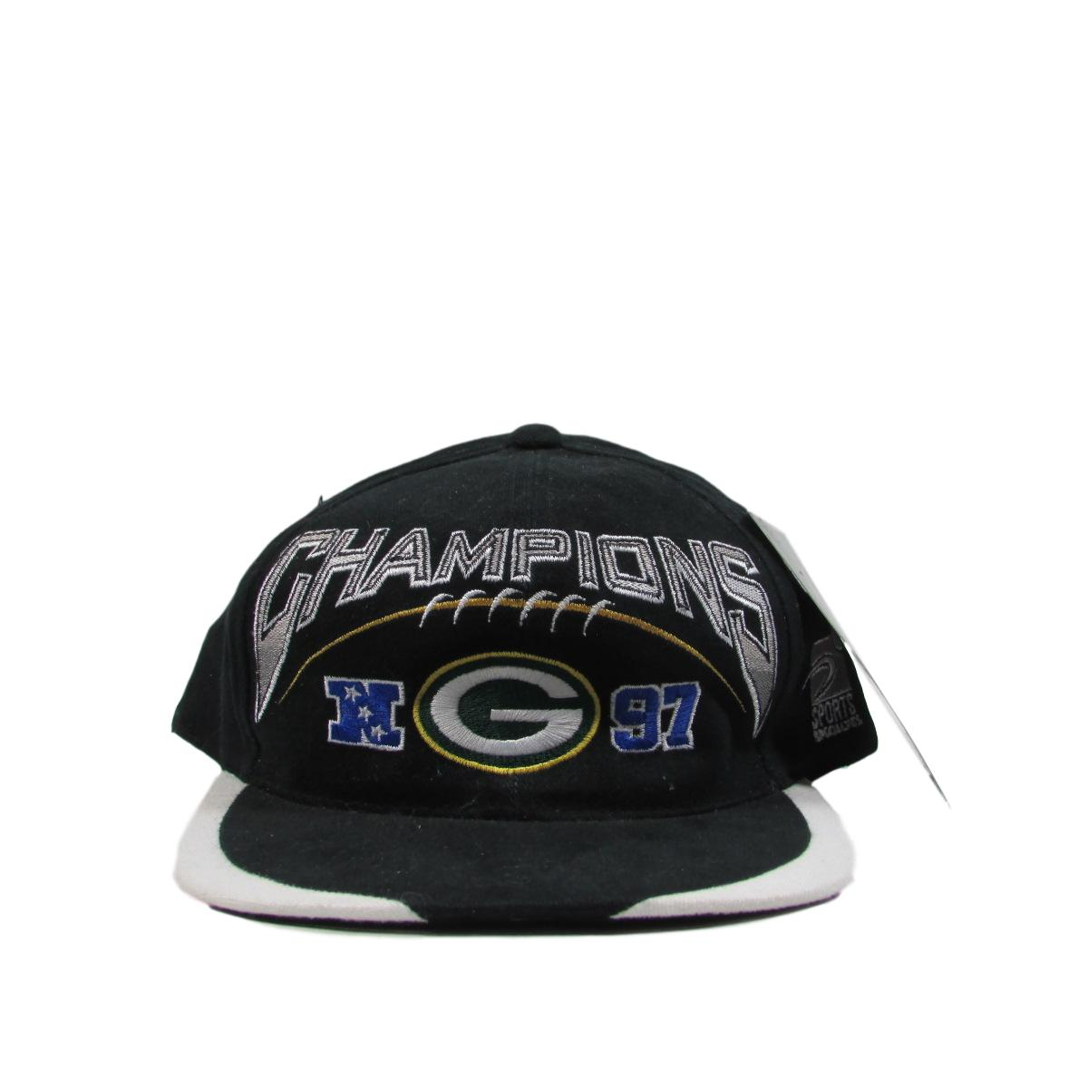 Green Bay Packers 1997 National Football League Champions Deadstock Snapback Pro Line Sports Specialties