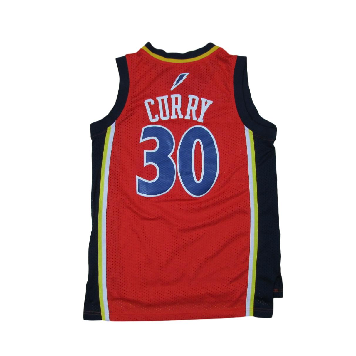 Golden State Warriors Steph Curry We Believe Edition Basketball Jersey Sz S