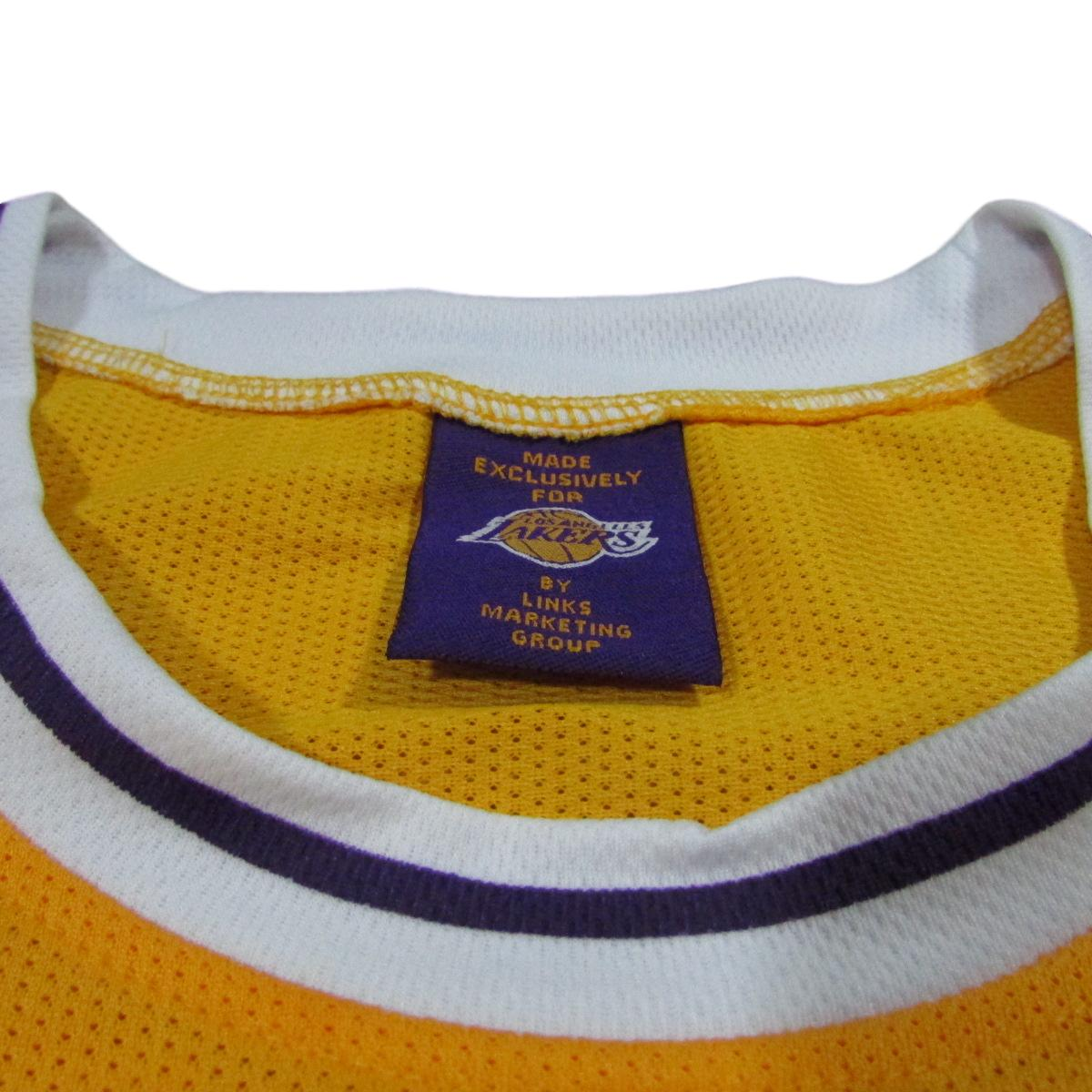 Kobe Bryant Vintage Los Angeles Lakers Basketball Jersey Sz XL