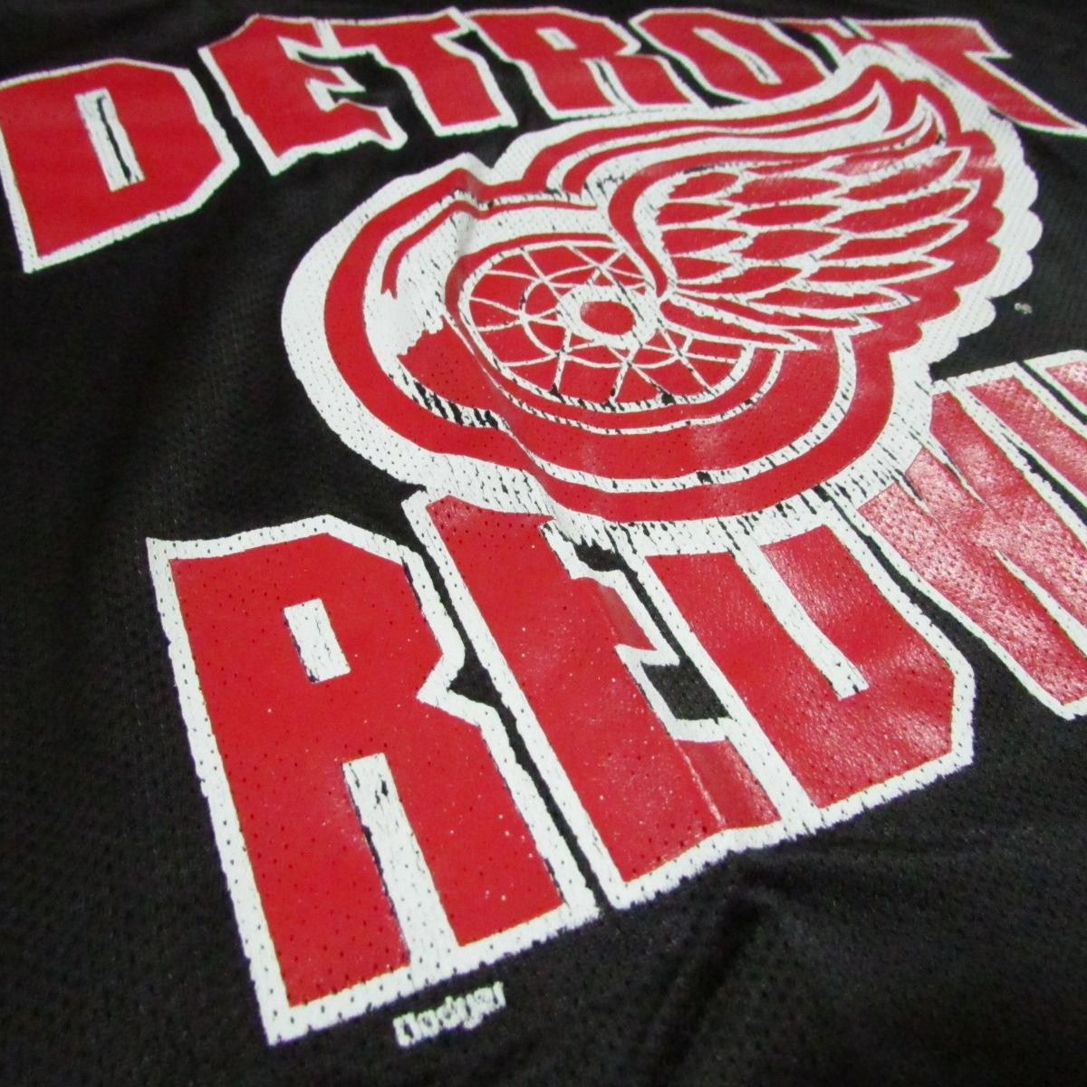 Detroit Red Wings Lightweight Short Sleeve Hockey Jersey Sz L