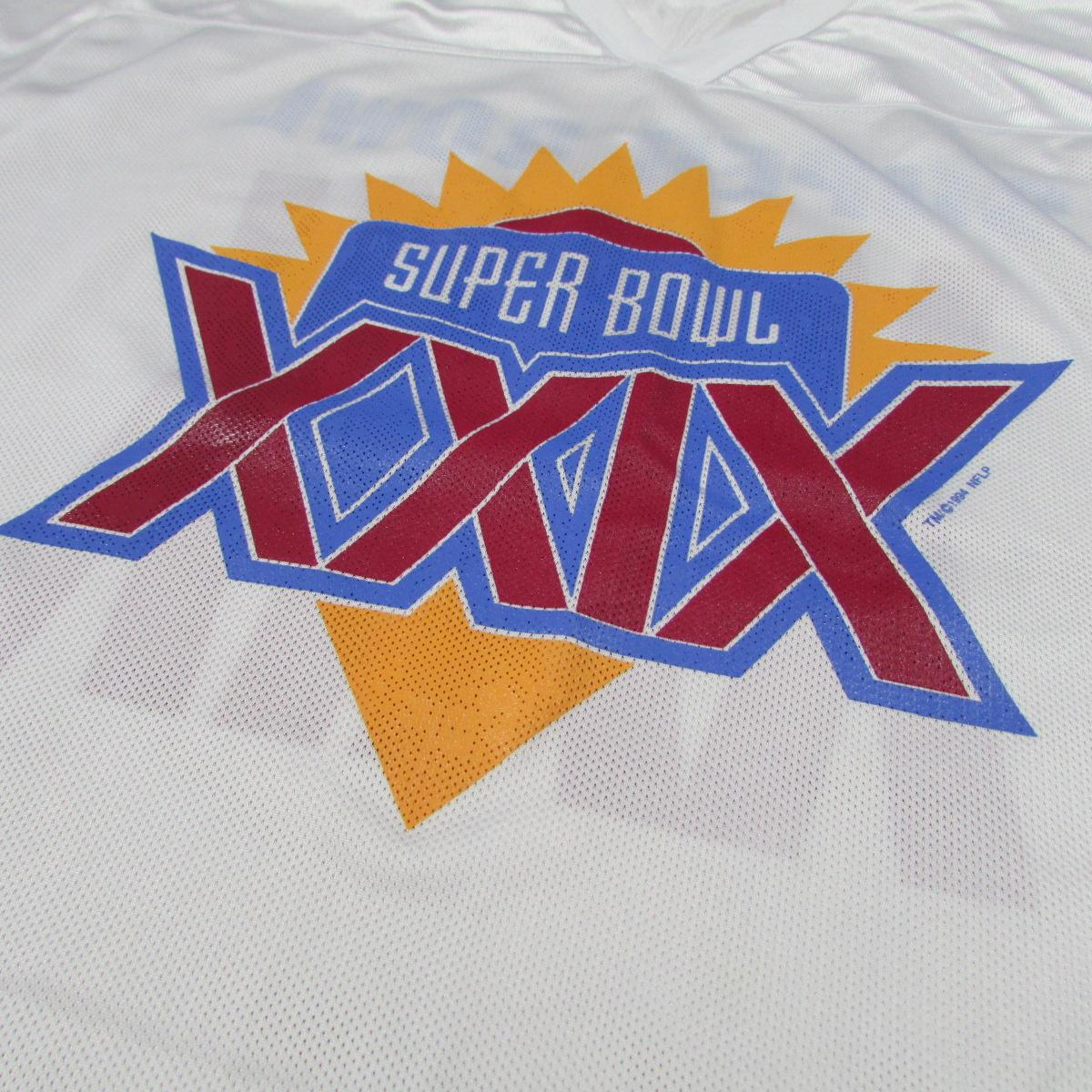 Logo Athletic Super Bowl XXIX 1994 Football Jersey Chargers vs 49ers Sz XL