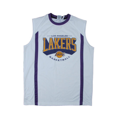Los Angeles Lakers ZIPWAY Basketball Jersey Sz L