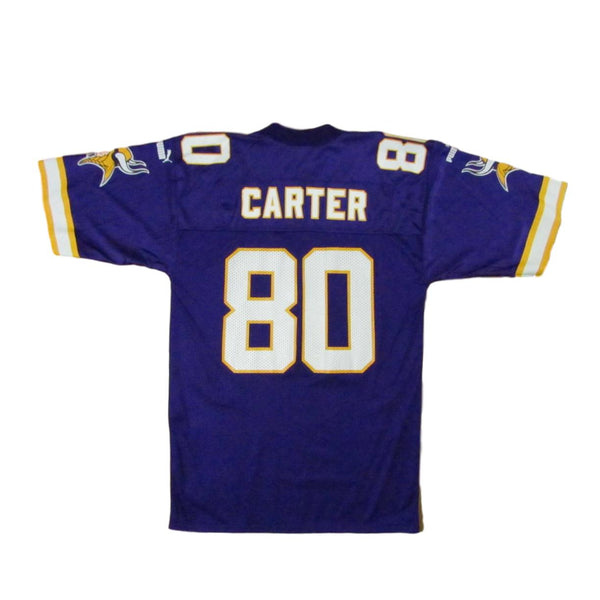 Minnesota Vikings Chris Carter Puma Football Jersey Sz M