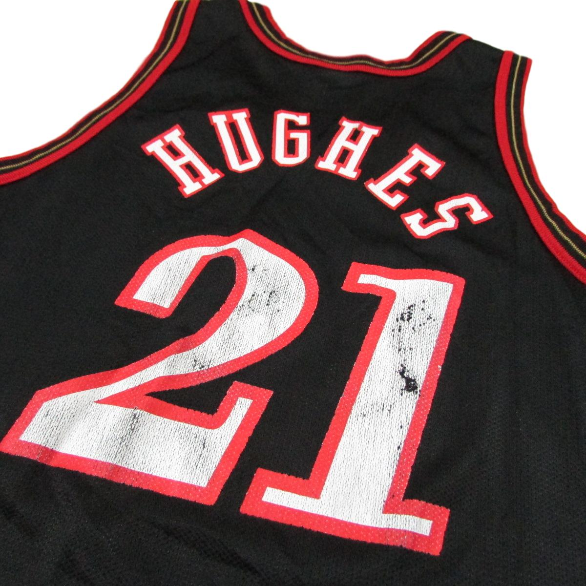 Philadelphia 76ers Larry Hughes 1998 Champion Basketball Jersey Sz 40