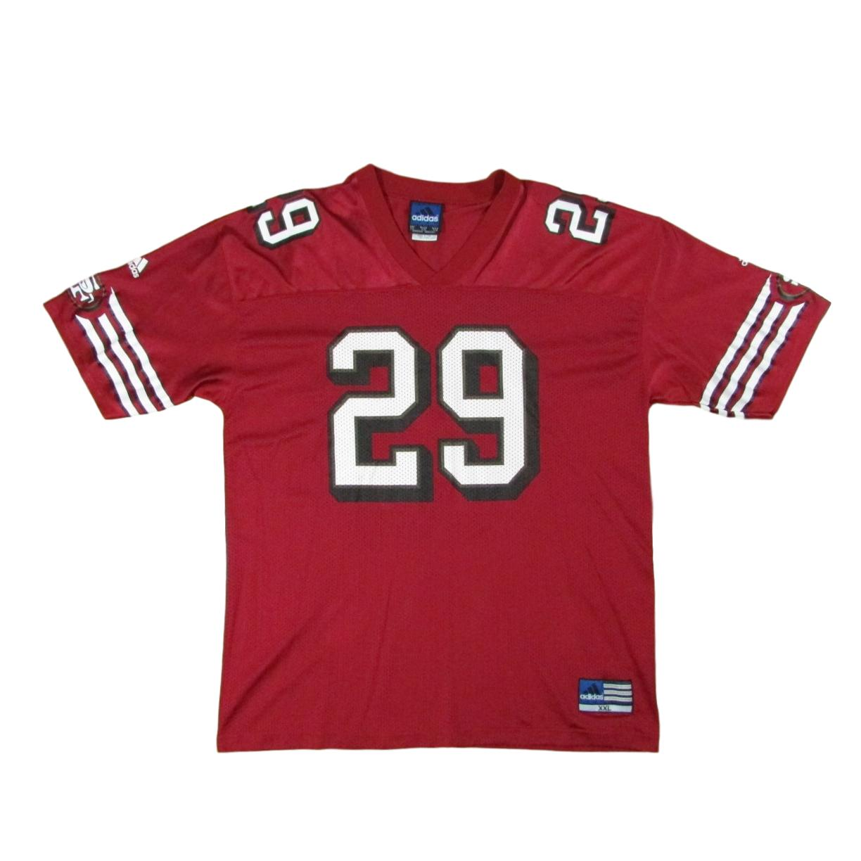 San Francisco 49ers Ahmed Plummer Adidas Football Jersey Sz XXL