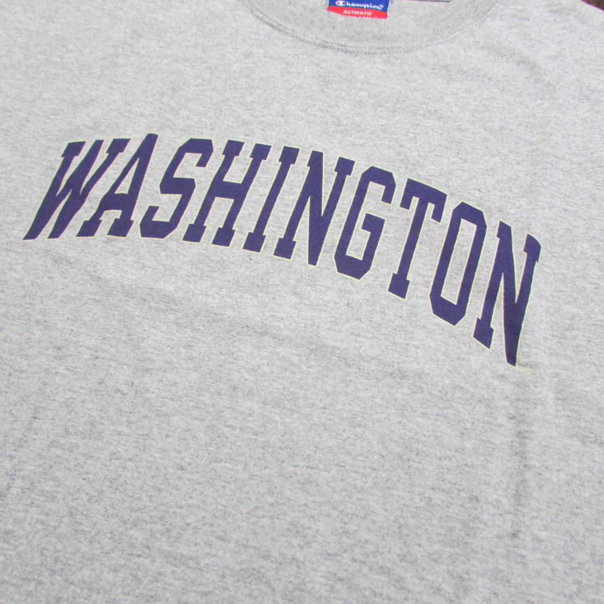 Washington Huskies Football Practice T-Shirt Champion Sz XL