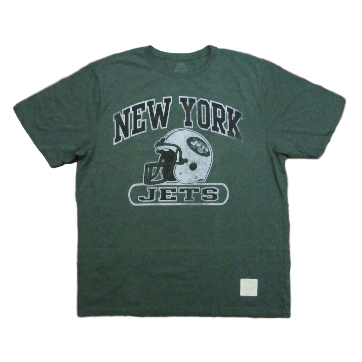 New York Jets Lightweight Football T-Shirt Retro Sport Sz XL