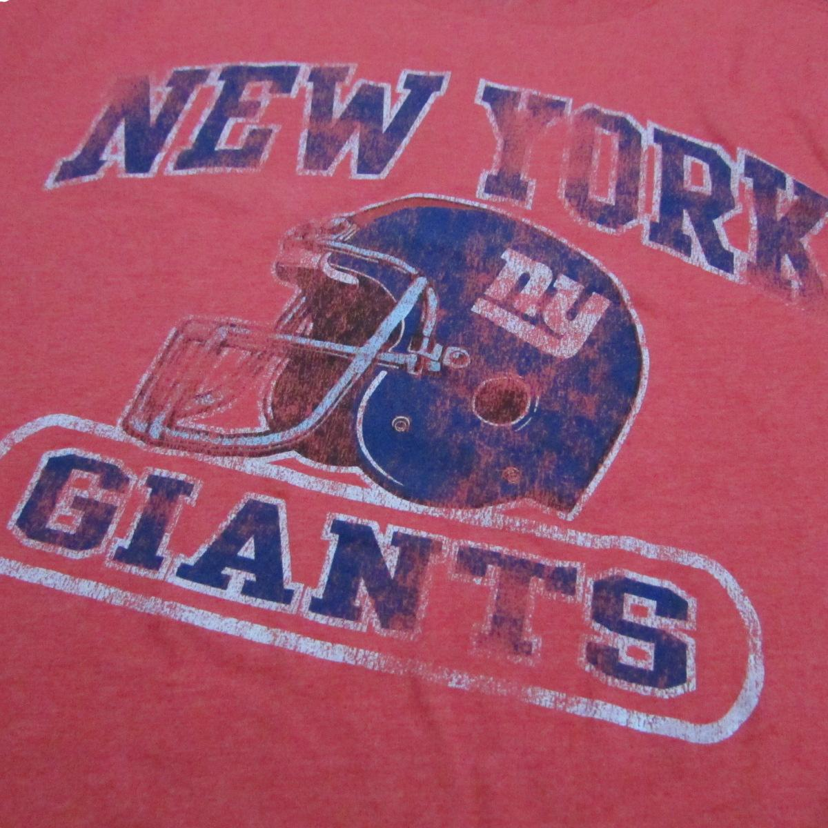 New York Giants Lightweight Football T-Shirt Retro Sport Sz XL