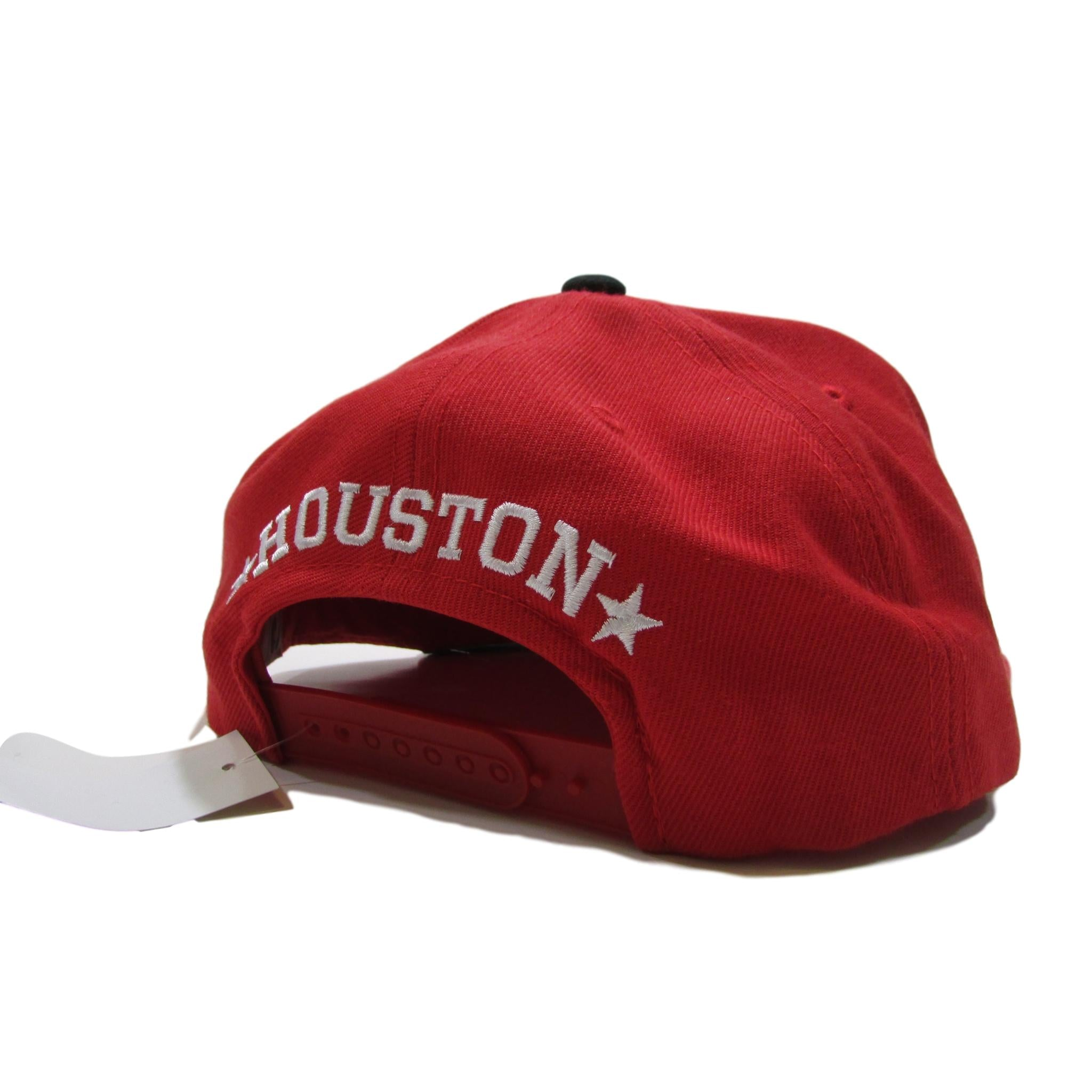 Houston Rockets NBA Snapback Classic Red w/ Arch Font