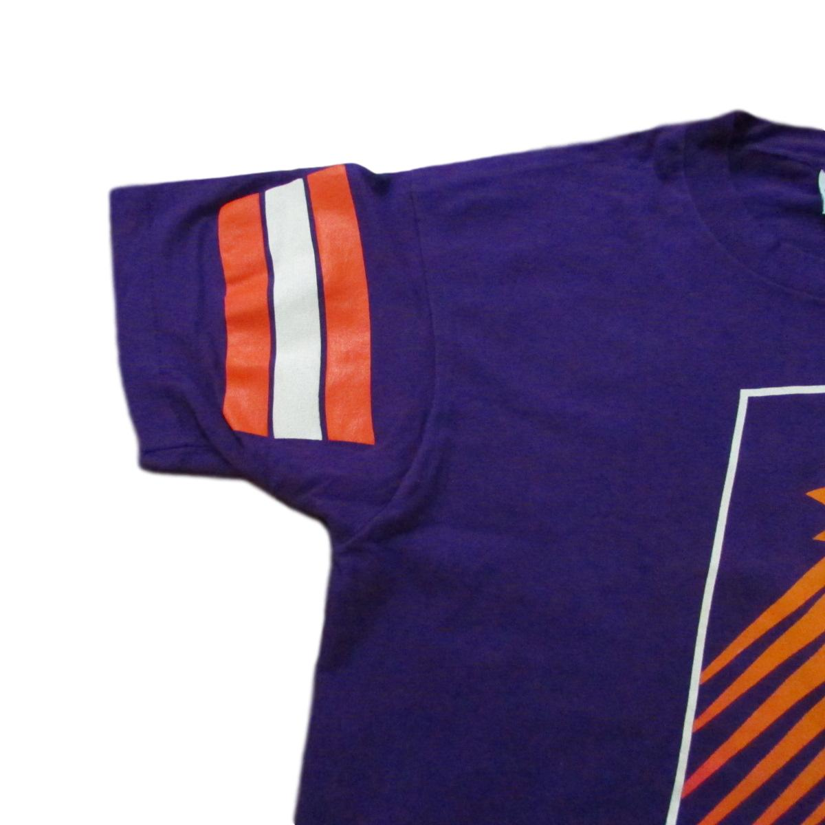 Phoenix Suns All Over Print Western Conference Basketball T-Shirt Salem Sportswear Sz L