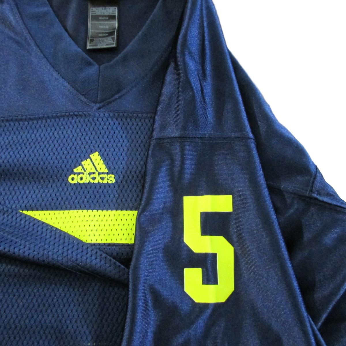University of Michigan Wolverines College Football Vintage Jersey Adidas Sz S