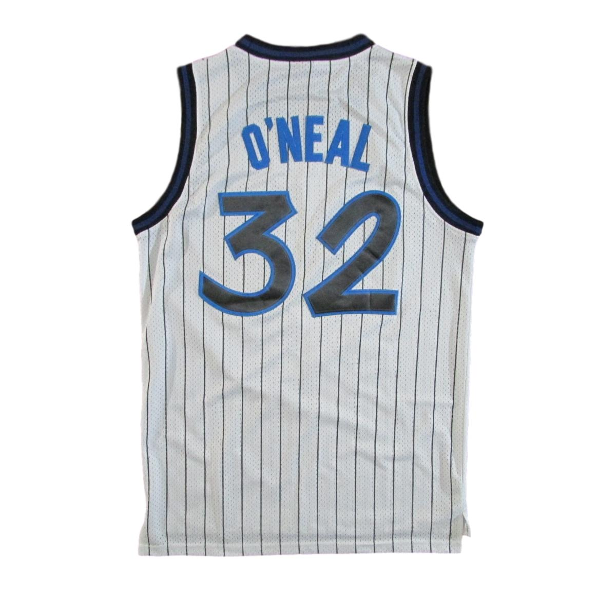 Orlando Magic Shaquille O'Neal Home Edition Pinstripes 1989 Basketball Jersey Nike Sz M