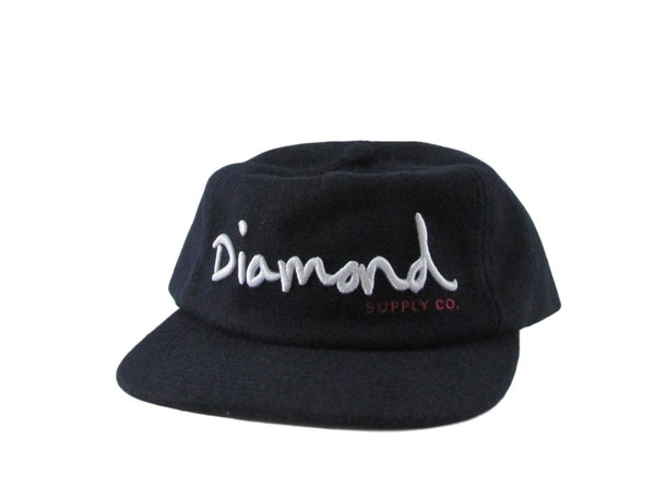 Diamond Supply Co Wool OG Snapback Hat
