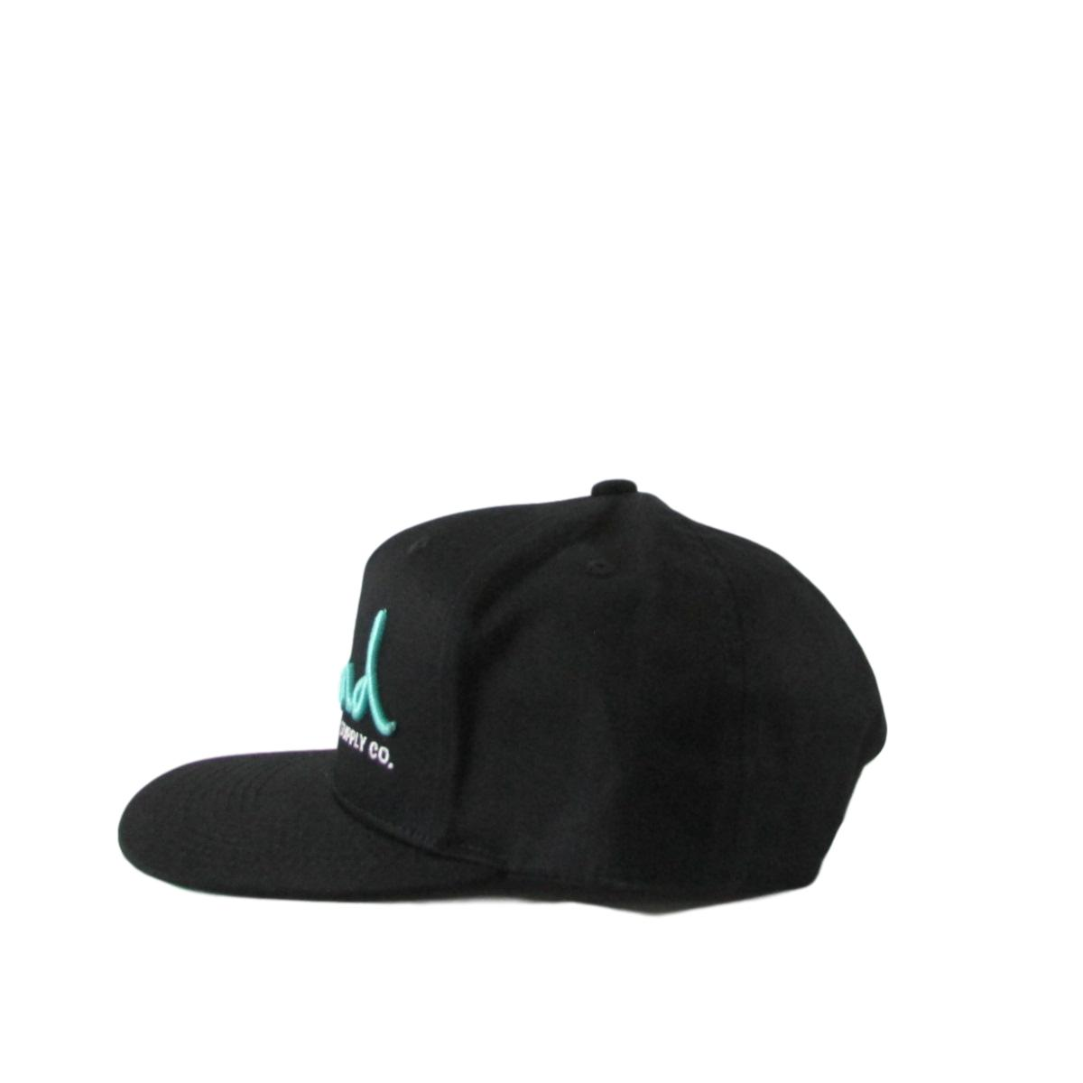 Diamond Supply Co Teal Script OG Font Snapback Hat