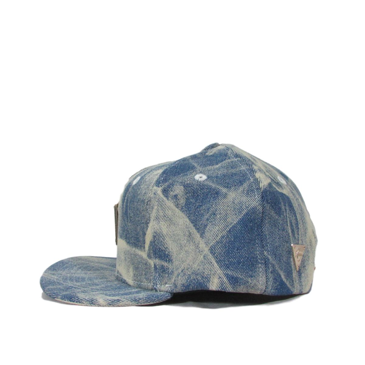 Hater Dust Wash Denim Jean Snapback Hat
