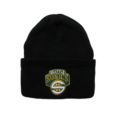 Seattle Supersonics Deadstock 2001 Logo Basketball Beanie Logo 7