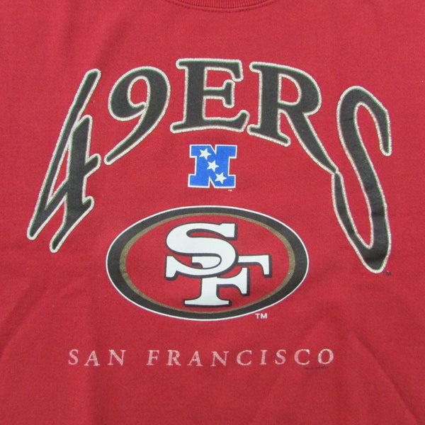 San Francisco 49ers Vintage Sweater Lee Sport Sz L