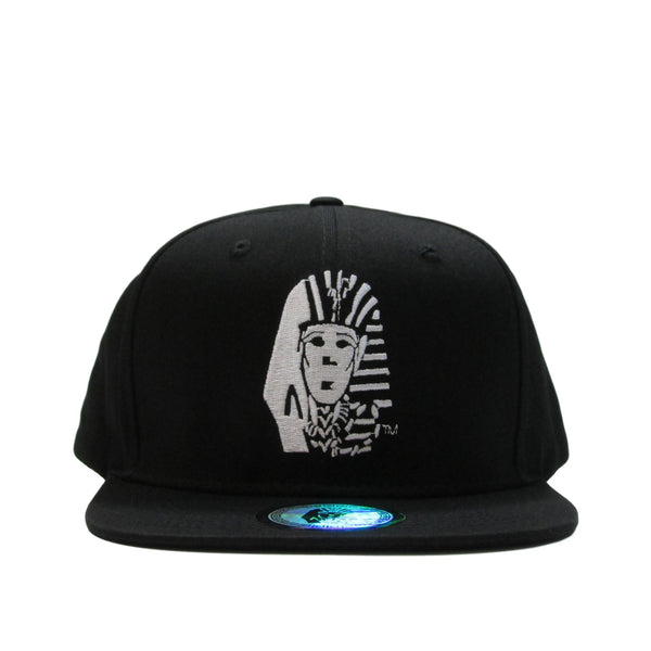 Last Kings Black Pharaoh Velour Under-brim Snapback Hat