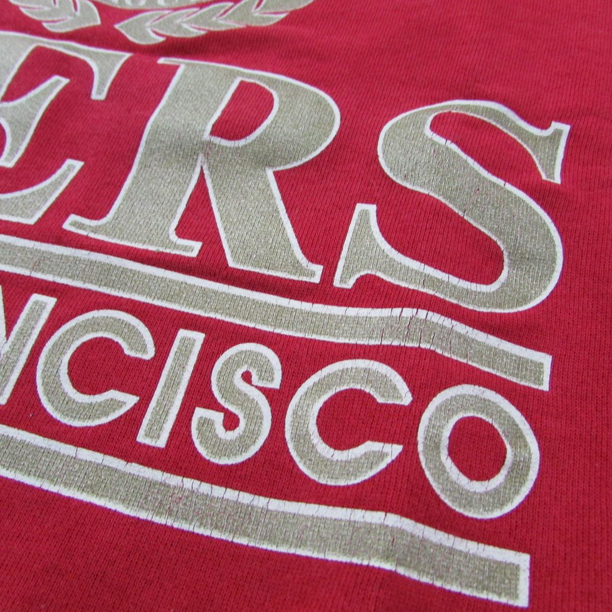 San Francisco 49ers Vintage Sweater Logo 7 Sz L