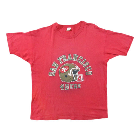 San Francisco 49ers Vintage Football Champion T-Shirt Sz XL