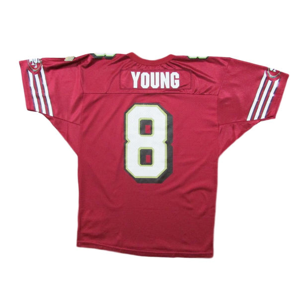 San Francisco 49ers Steve Young Football Jersey Wilson Sz L