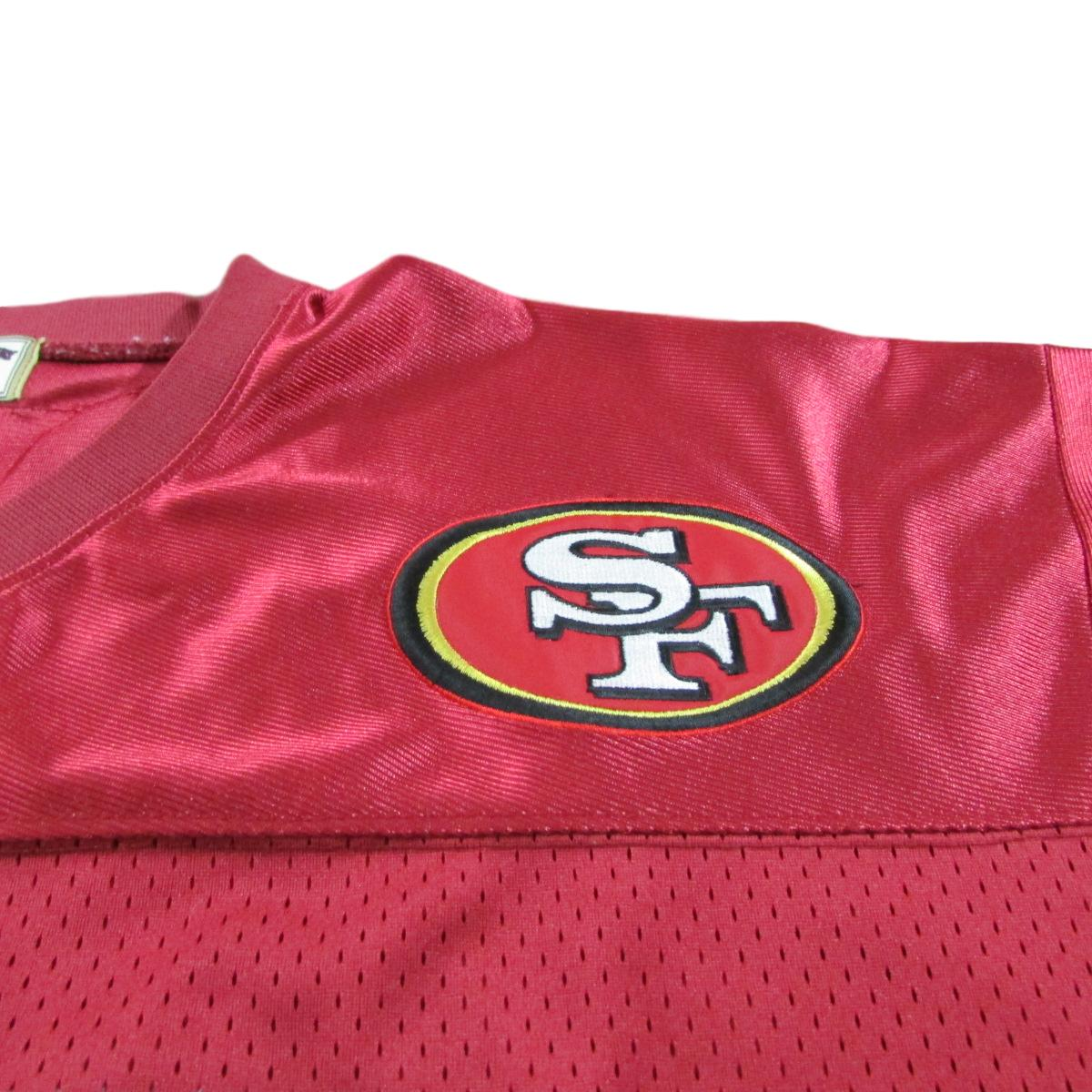 San Francisco 49ers Jerry Rice Football Jersey Jeff Hamilton Sewn Sz 52