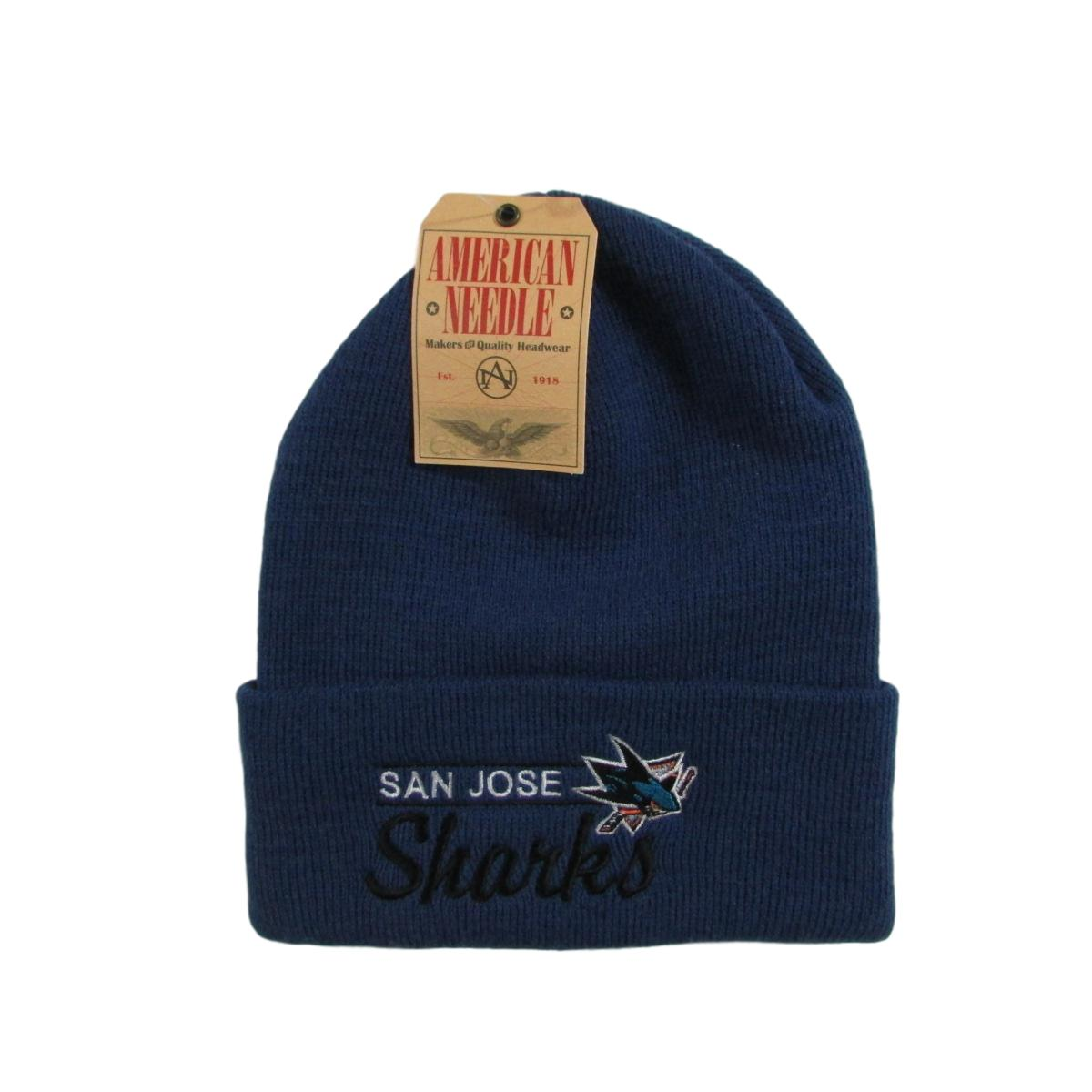 San Jose Sharks Hockey Beanie American Needle