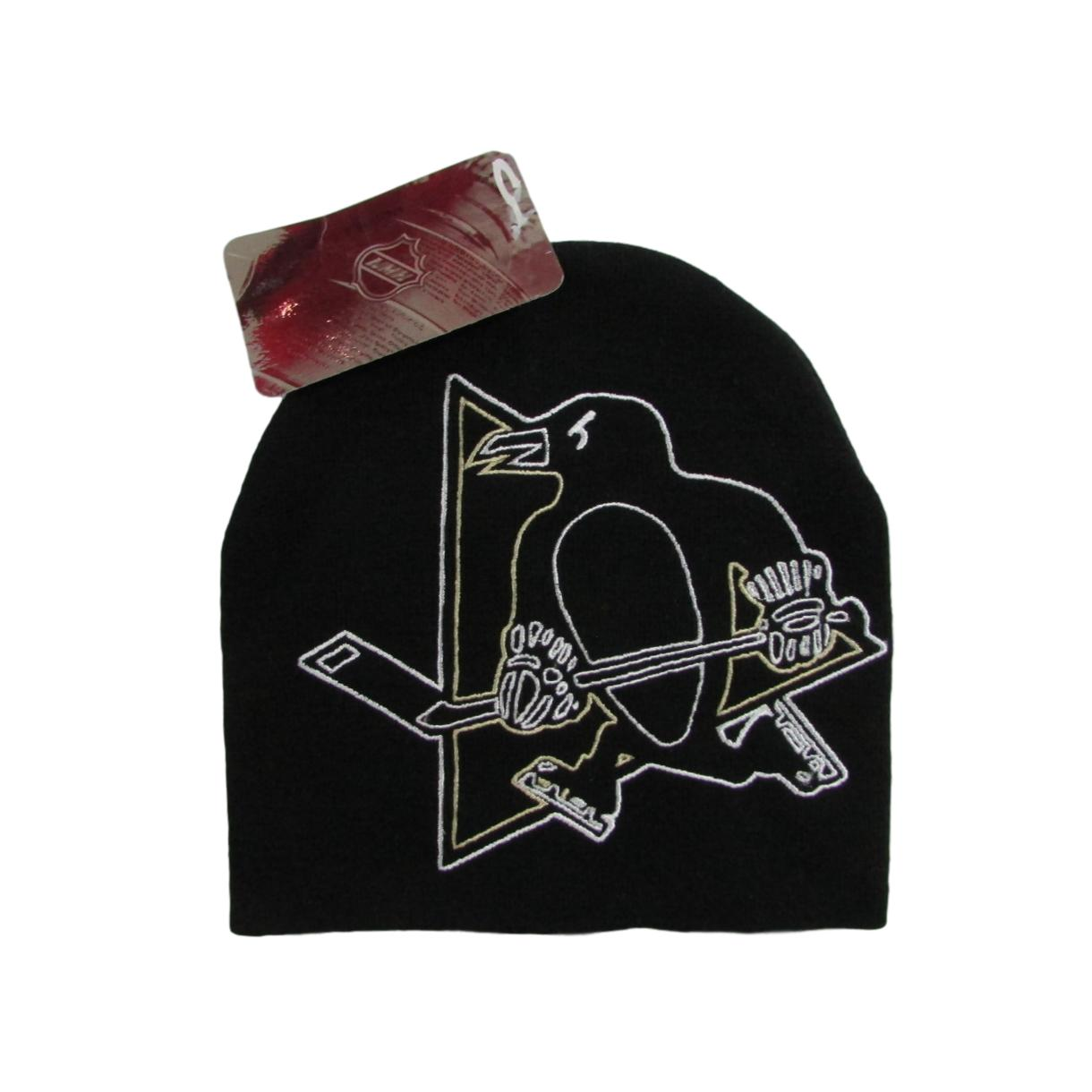 Pittsburgh Penguins Skull Cap Hockey Beanie
