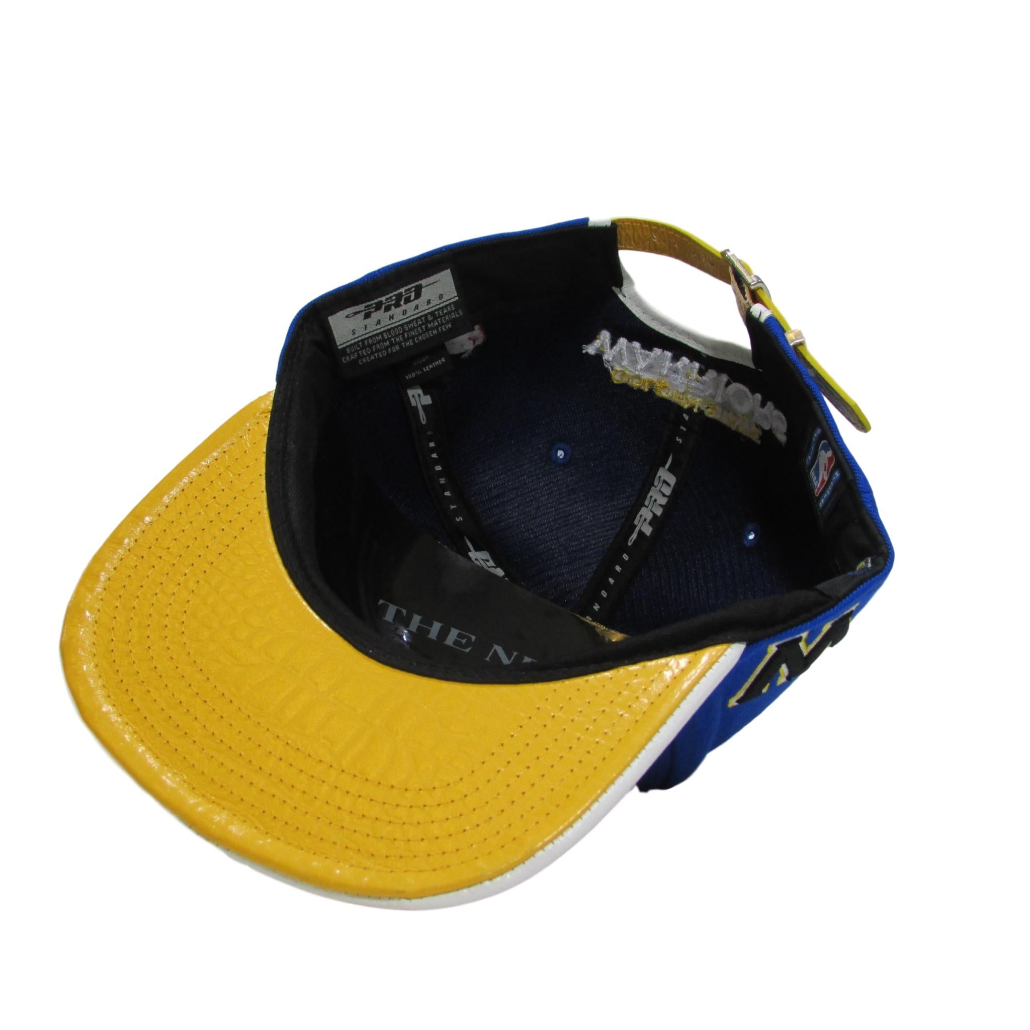Golden State Warriors PRO STANDARD NBA Snapback w/ Leather Brim