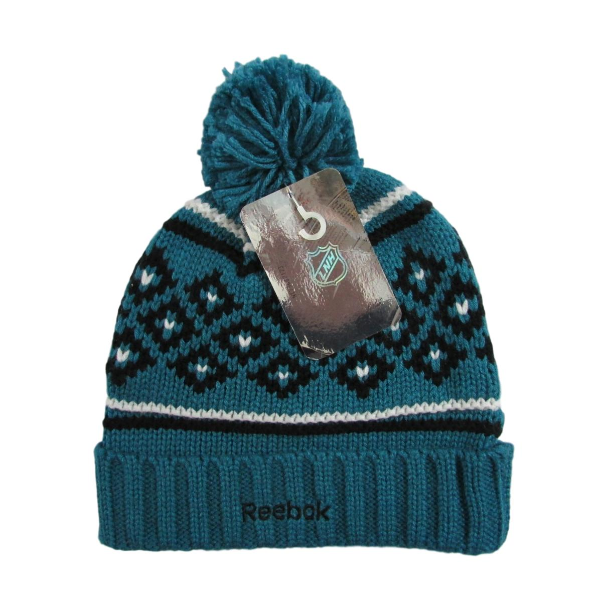 San Jose Sharks Winter Knit Hockey Beanie Reebok