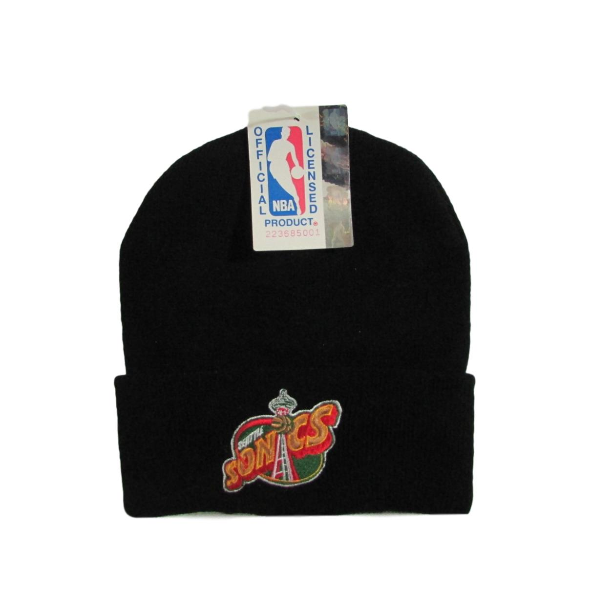 Seattle Supersonics Deadstock 1995 Logo Basketball Beanie Logo 7