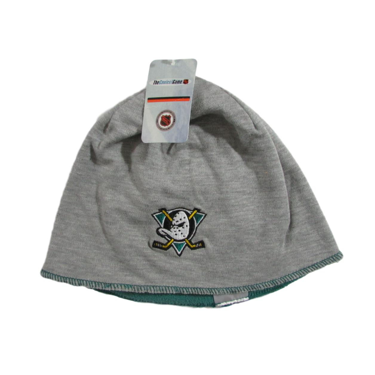 Mighty Ducks of Anaheim Hockey Skull Cap Beanie