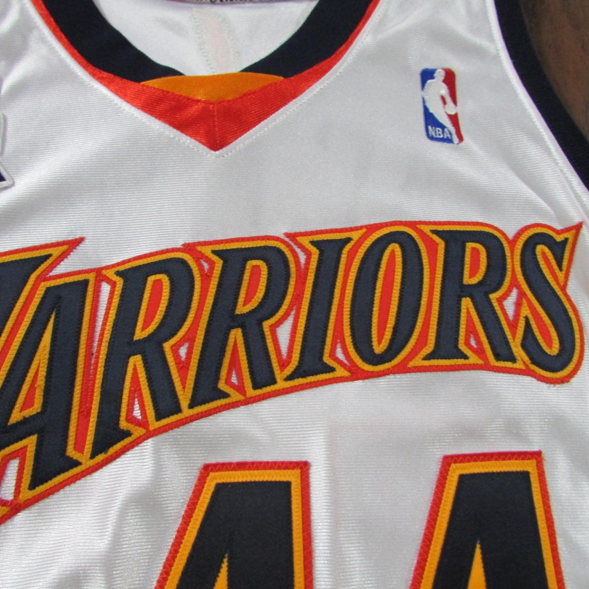 Golden State Warriors Marc Jackson 2001 Authentic Player Basketball Jersey Sz L