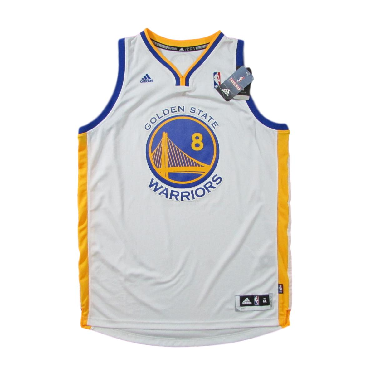 Golden State Warriors Autographed Monta Ellis Basketball Jersey Sz XL