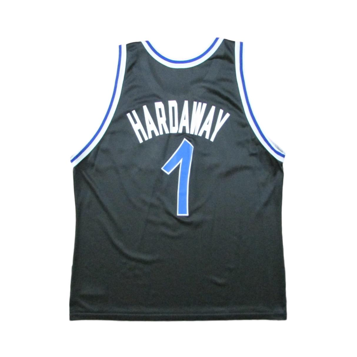 Orlando Magic Anfernee Penny Hardaway Basketball Champion Jersey Sz 48