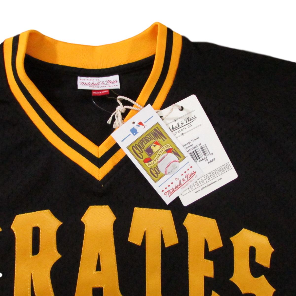 Pittsburgh Pirates Willie Stargell Mitchell & Ness Baseball Jersey Sz XL