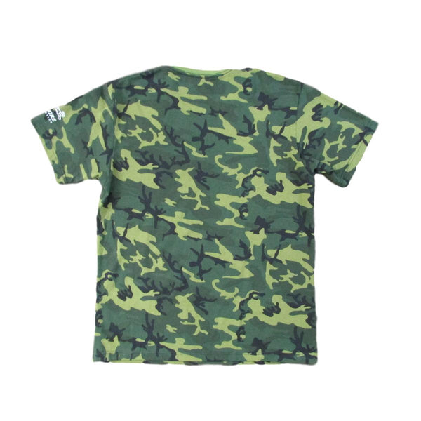 Le Tigre Camouflage T-Shirt