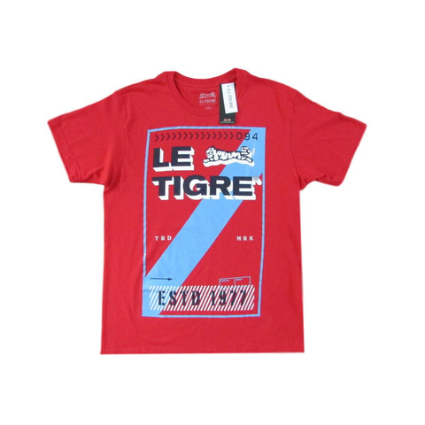 Le Tigre Red Euro Stripe T-Shirt