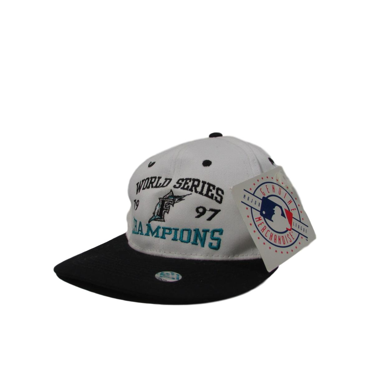 Florida Marlins Deadstock 1997 World Series Champions Snapback Hat