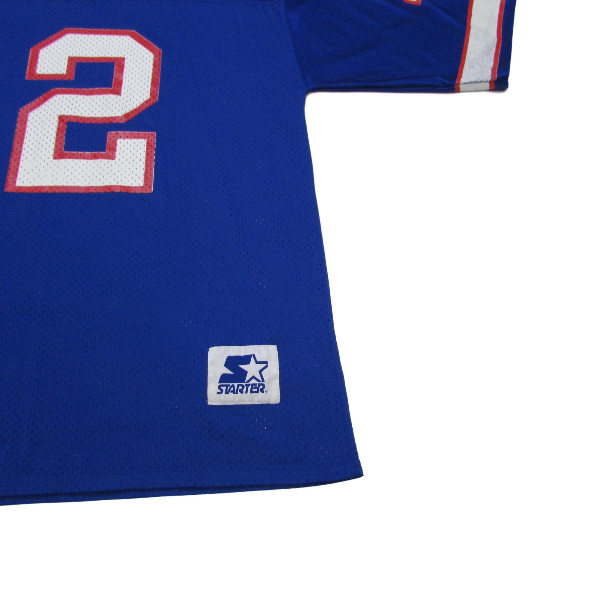Buffalo Bills Jim Kelly Vintage Football Jersey Starter Sz XL