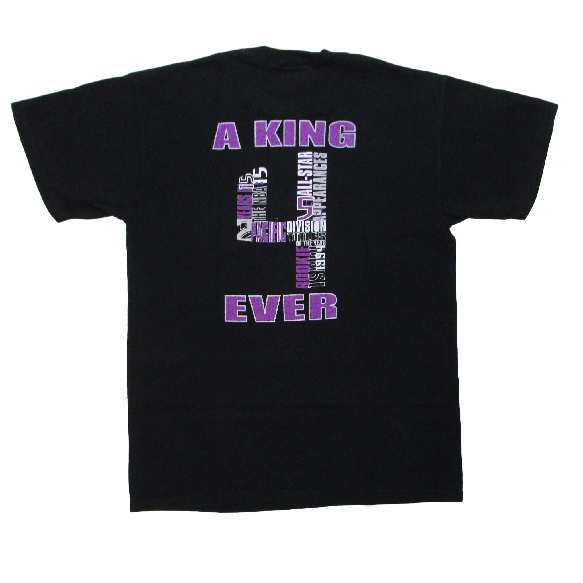 Sacramento Kings Chris Webber Jersey Retirement T-Shirt Sz M