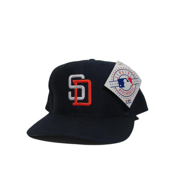 San Diego Padres Deadstock Baseball Snapback Hat Logo Athletic