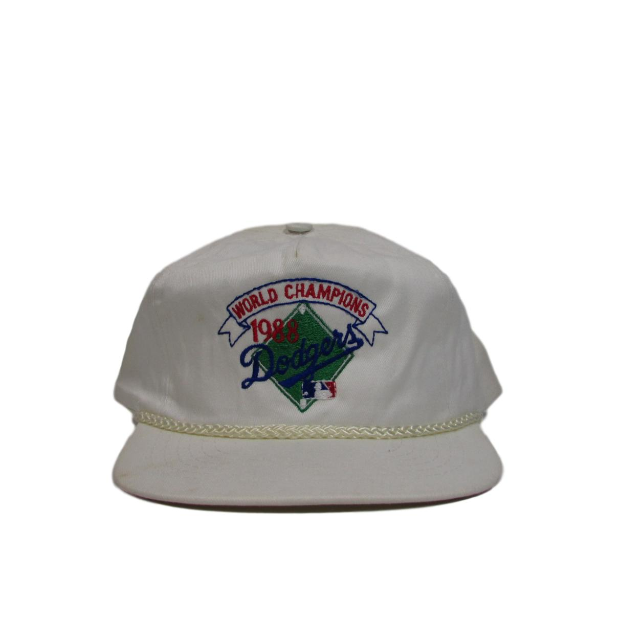 Los Angeles Dodgers 1988 World Series Champions Deadstock Twill Snapback Hat